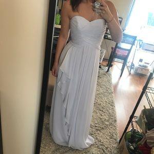 Size 2 David's Bridal bridesmaid prom dress  new